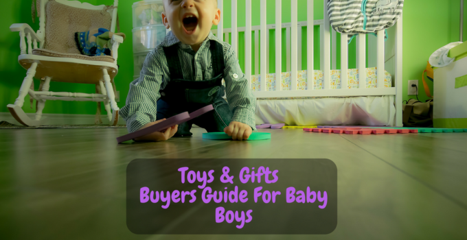 baby boy gifts and toys