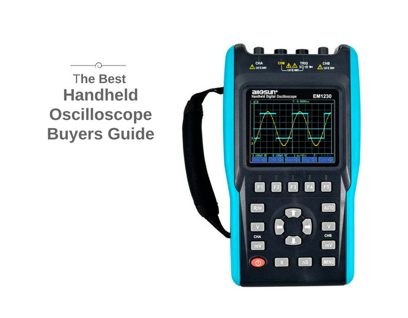 best handheld oscilloscope
