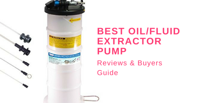 oil and fluid extractor