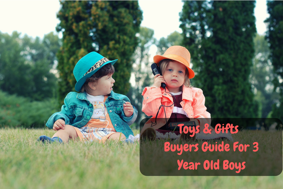 gifts and toys for 3 year old boys