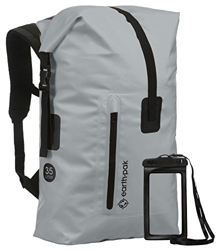 42192004e3 The Earth Pak Waterproof Backpack is another 35-L waterproof bag that is  great for all kinds of situations. This bag is made up of quality parts and  ...