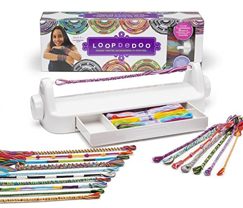 loopdedoo spinning loom kit friendship bracelet maker - Christmas Toys For 11 Year Olds