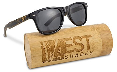 """ebf16999ab Bamboo Sunglasses – 100% Polarized Wood Shades from the""""50 50″ Collection"""